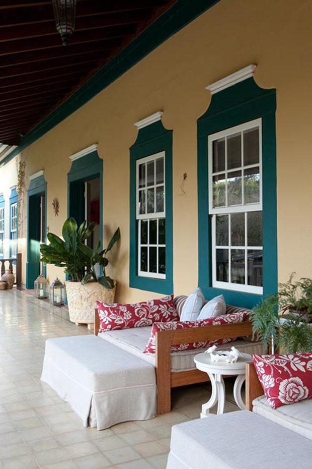 decoracao de natal para interiores de casas:Pin Casa De Fazenda Com Varanda 7 on Pinterest