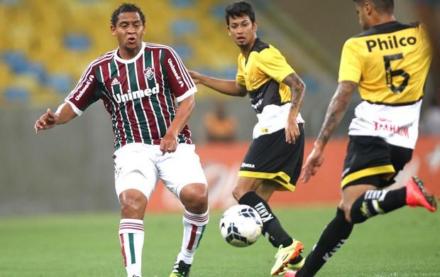 Walter, Fluminense X Criciuma  (Foto: Paulo Sergio / Photocamera)