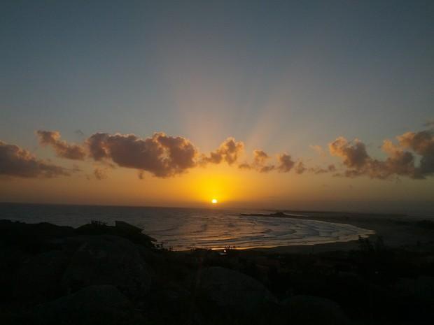 Temperaturas podem ultrapassar os 30ºC em Santa Catarina (Foto: Carolina Lopes/G1)