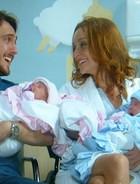Marcelo e Pri: pais de quatro ruivinhos (Além do Horizonte / TV Globo)