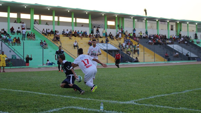 Rondoniense e Náutico-RR (Foto: Jheniffer Núbia/GloboEsporte.com)