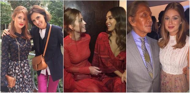Marina Ruy Barbosa com famosos em Paris (Foto: Reprodução/Instagram)