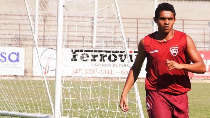 Diego Oliveira Atlético-IB (Foto: Orlando Pereira/CAHA)