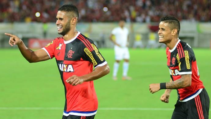 Kayke Flamengo x Avaí (Foto: Alexandre Lago/GloboEsporte.com)