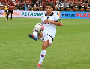 Lucio Flavio, Paraná Clube, jogo (Foto: Divulgação/site oficial do Paraná Clube)
