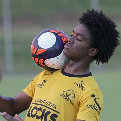 Caio Rangel Criciúma (Foto: Fernando Ribeiro/Criciúma EC)