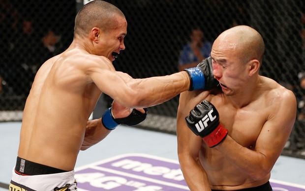 Jon Tuck x Tiequan Zhang, UFC MAcau (Foto: Getty Images)