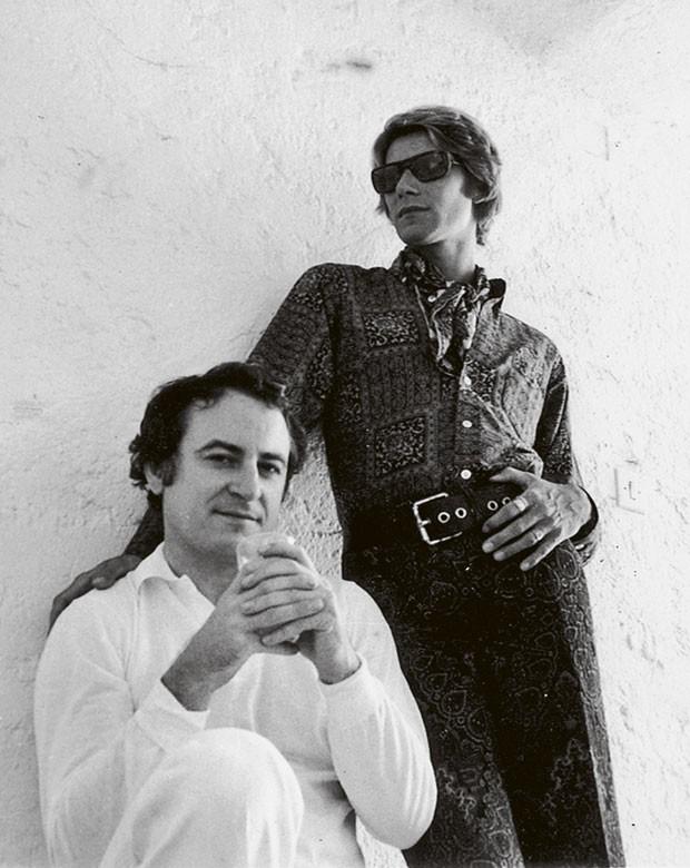 Pierre Bergé e Yves Saint Laurent (Foto: Paris /Alexandre Guirkinger)