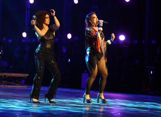 Laila Garin e Alice Caymmi (Foto: AgNews)