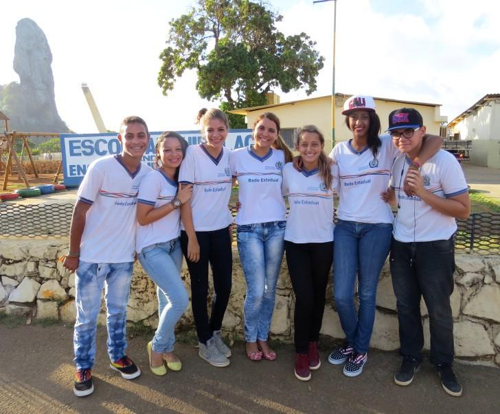 Estudantes de Fernando de Noronha 1