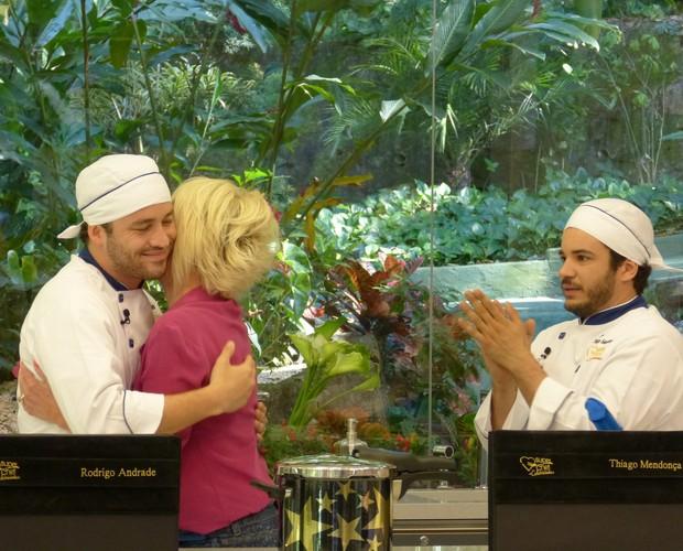 Rodrigo Andrade deixa o Super Chef (Foto: Mais Você/ TV Globo)