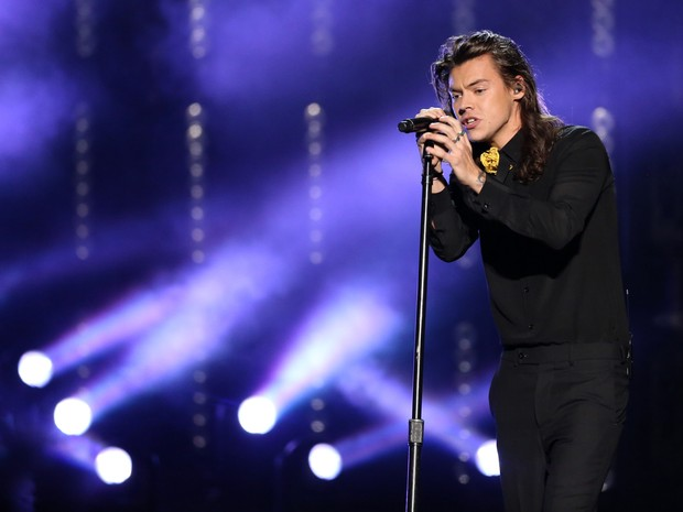 Harry Styles vai gravar disco solo, durante hiato do One Direction (Foto: Matt Sayles/AP)