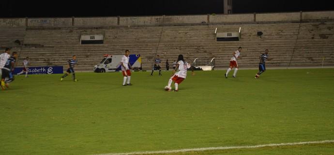 Auto Esporte x CSP, estádio Almeidão (Foto: Hévilla Wanderley / GloboEsporte.com/pb)