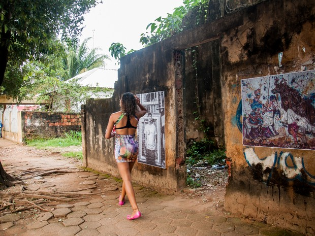 Fotografias vão ser coladas em 12 bairros da capital  (Foto: Talita Oliveira / Arquivo Pessoal)