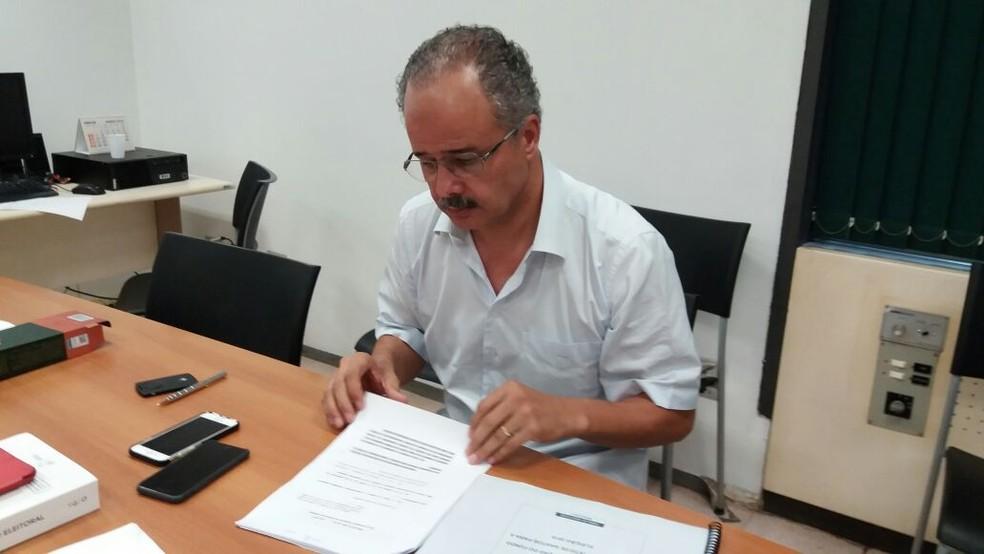 Relator da reforma política, o deputado Vicente Cândido (PT-SP) propõe o fim do cargo de vice (Foto: Bernardo Caram/G1)
