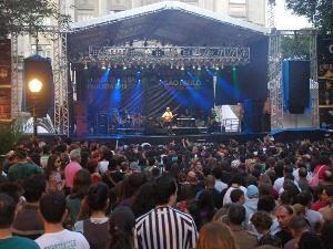 Palco principal estará montado na Praça Mauá (Foto: Divulgação/Prefeitura de Santos)