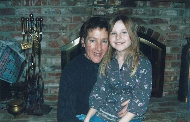 Janet posa ao lado da filha Isabella no último encontro que tiveram em janeiro de 2009. (Foto: Arquivo Pessoal)