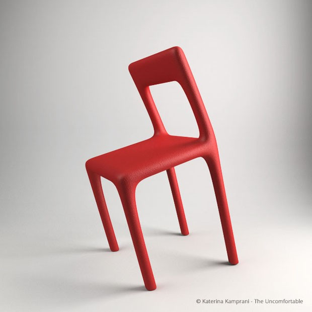 Arquiteta cria série de objetos inutilizáveis (Foto: Reprodução)