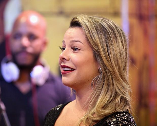 Fernanda Souza chora (Foto: Isabella Pinheiro/Gshow)