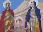 Acervo sacro de Portinari volta a ser exposto em Batatais após 10 meses