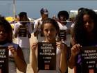 Protesto no Rio lembra morte de Maria Eduarda