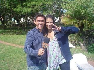 Fela e Lu Martins  (Foto: Arquivo Pessoal)