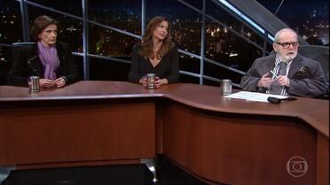 Jô Soares e Meninas do Jô falam sobre os últimos fatos da política brasileira