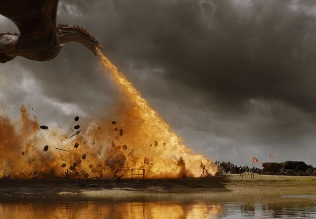 Cena de episódio da série da HBO Game of Thrones (Foto: Reprodução/YouTube)