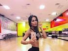 Após recuperação, Mayra Cardi posta foto em academia: 'Nada como voltar'