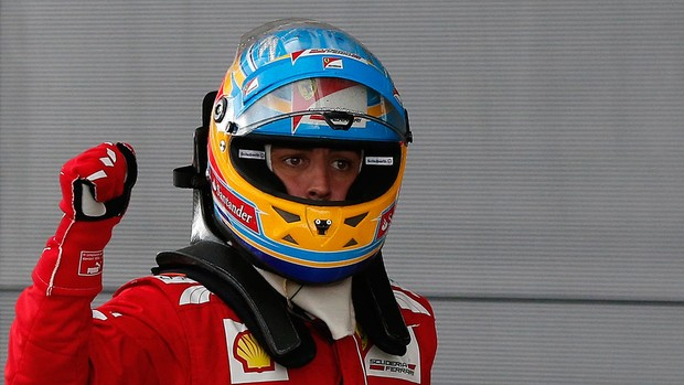Alonso pole Silverstone (Foto: Reuters)