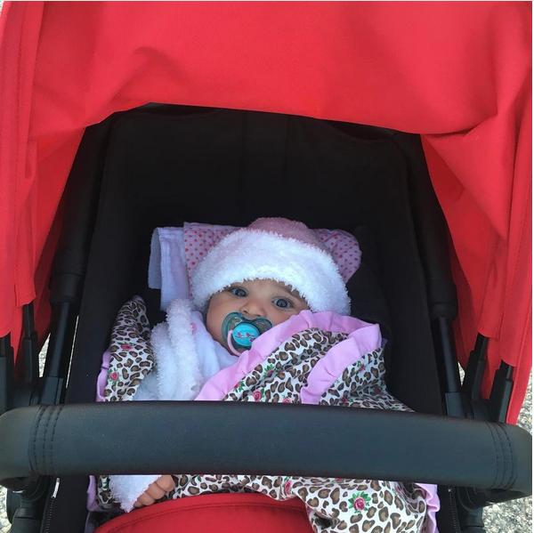 Dream Kardashian, filha de Rob Kardashian e Blac Chyna (Foto: Instagram)