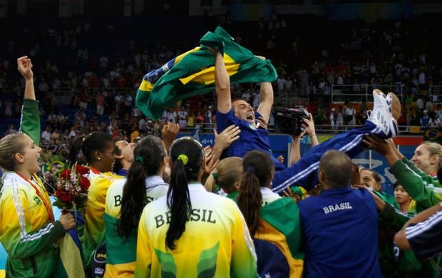 ze roberto olimpiadas 2008 volei feminino (Foto: Reuters)
