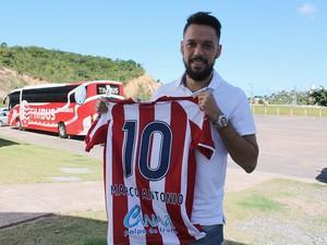 Marco Antônio Náutico (Foto: Divulgação)
