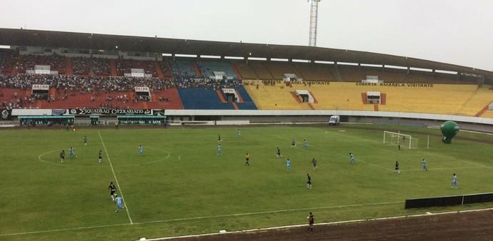 Operário x Luziânia no estádio Morenão pela Copa Verde (Foto: Carol Lacerda/TV Morena)