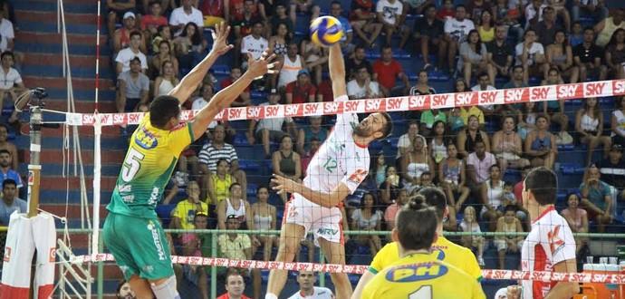 As próximas duas partidas serão disputadas em Campinas (Foto: Fredson Souza/MCV)