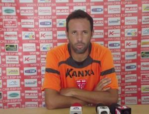 Gabriel, zagueiro do CRB (Foto: Caio Lorena / GloboEsporte.com)