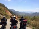Onze motociclistas rodam 1200 km em rota de montanhas e praias do ES