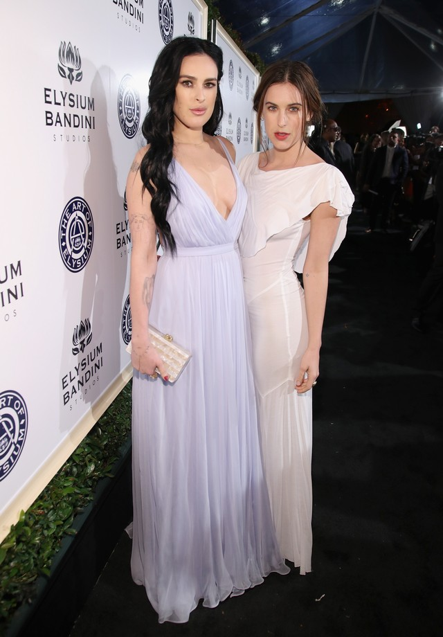 Rumer e Scout Willis (Foto: Getty Images for The Art of Elysium)
