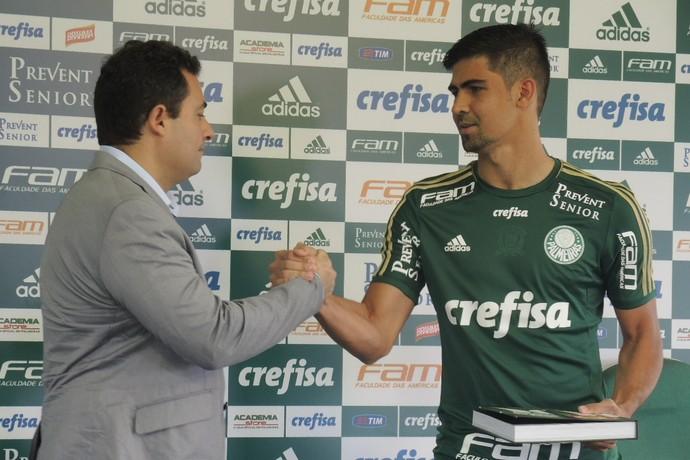 Leandro Almeida Palmeiras (Foto: Felipe Zito)