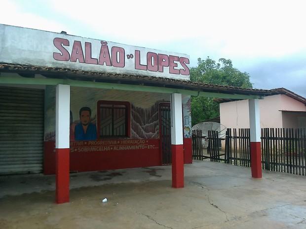 Local onde corpo do cabeleireiro foi encontrado (Foto: Arquivo pessoal)
