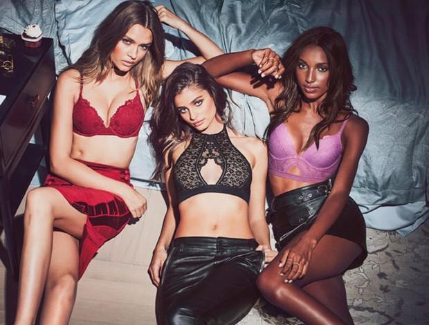 Josephine Skriver, Taylor Hill e Jasmine Tookes (Foto: Reprodução/Victoria´s Secret)