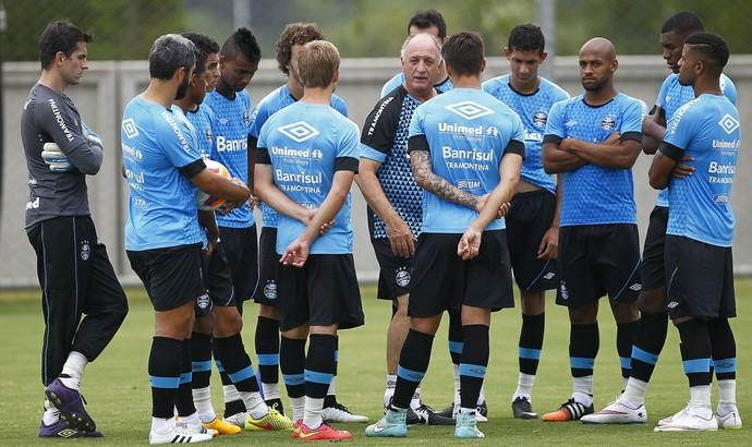 Felipão Grêmio treino CT Luiz Carvalho (Foto: Lucas Uebel/Grêmio)