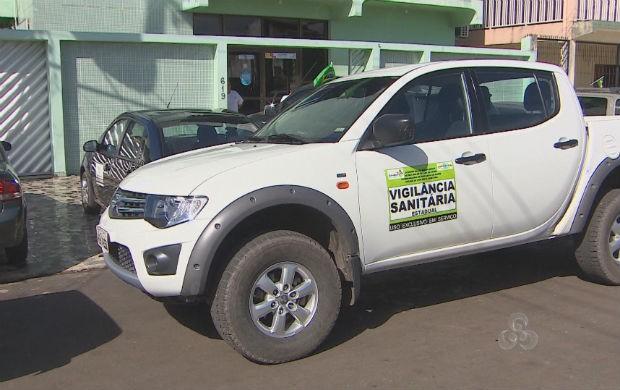 Vigilância sanitária do estado (Foto: Reprodução/TV Amapá)