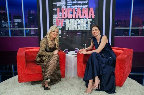 Rosane Malta e Luciana Gimenez  (Foto: RedeTV/VieiraPress)