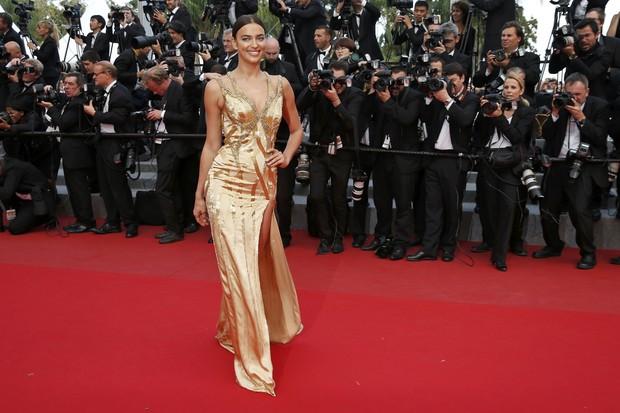 Irina Shayk no Festival de Cannes (Foto: Reuters)