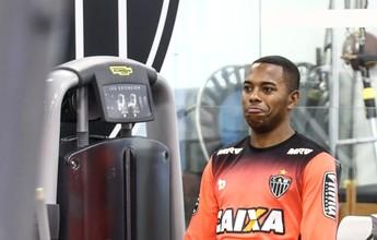 """Ainda longe do 100%, Robinho celebra sequência: """"Agora é manter o ritmo"""""""