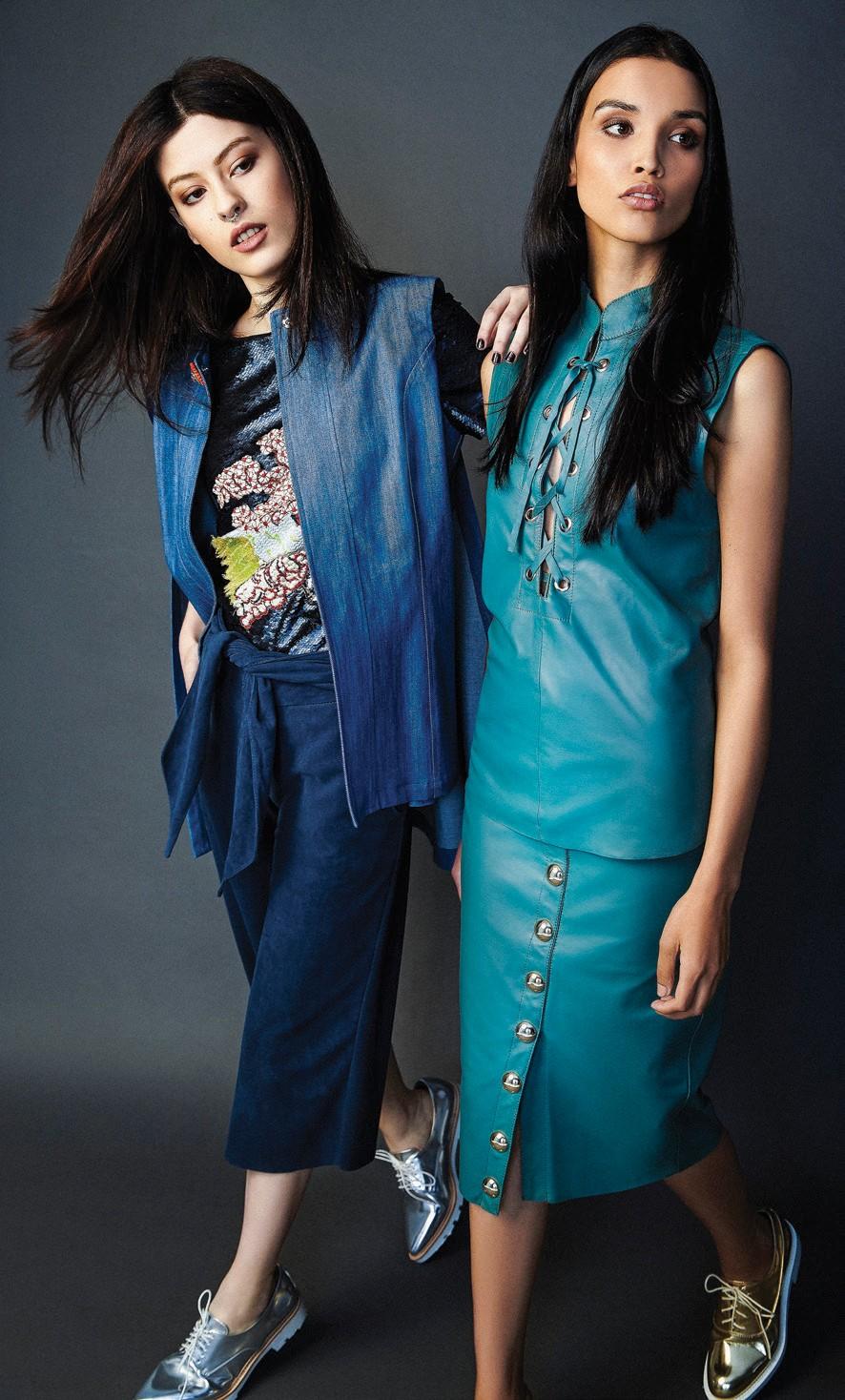 Consagrada pelas peças em couro, Ammis lança linha de jeans
