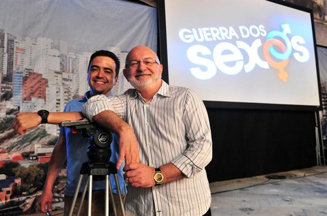 Daniel Ortiz e Silvio de Abreu (Foto: TV Globo)