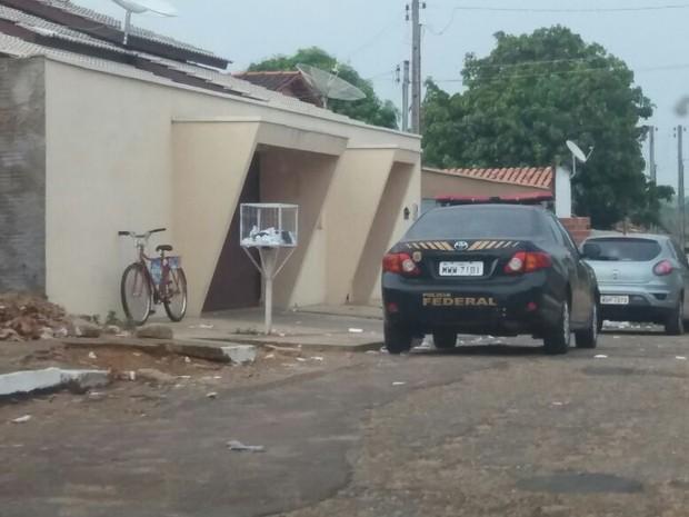Polícia Federal cumpre mandados em Lajeado (Foto: Divulgação)