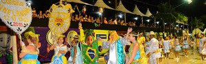 Cordões carnavalescos resgatam antigos carnavais corumbaenses (Gisele Ribeiro)
